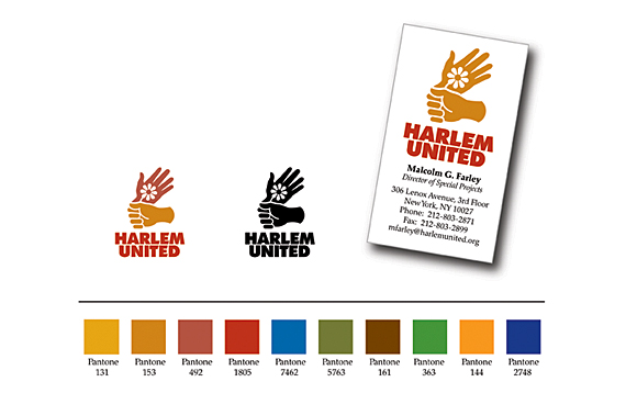 Harlem United Corporate Identity